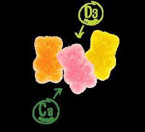 Калций с витамин D3 за деца