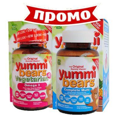 Мултивитамини и минерали и Омега 3